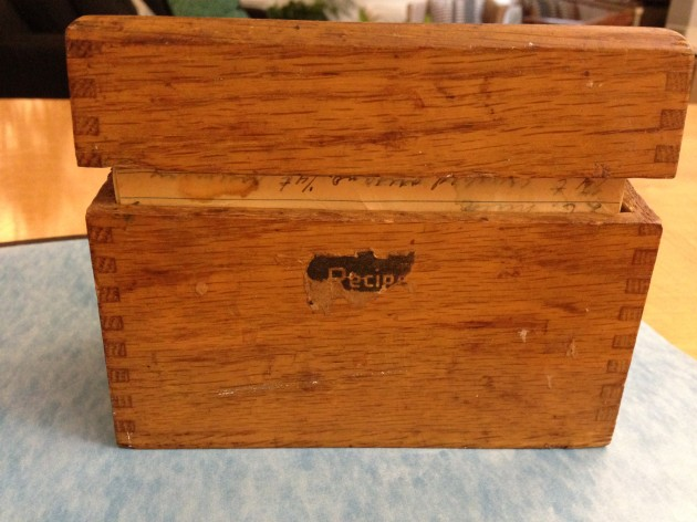 The Sacred Recipe Box