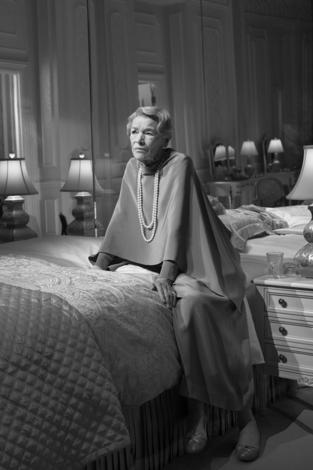 Glenda Jackson in Edward Albee's Three Tall Women, directed by Joe Mantello, at the Golden Theatre. Photo credit: Brigitte Lacombe.