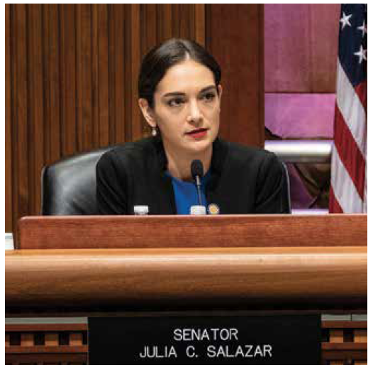 Julia Salazar. Photo by Joan Roth.