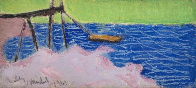 untitled 1961.oil on board