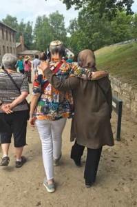 Sisterhood of Salaam Shalom Jew and Muslim at Auschwitz.