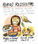 Comic by Rebecca Katz