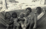 Tillie Olsen and her daughters, 1947.  Photos Courtesy of Julie Olsen Edwards