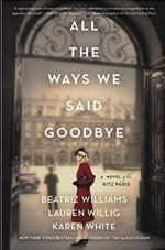 "Book cover for ""All The Ways We Said Goodbye"""